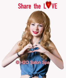 H2O Salon Spa Valentine's Day