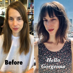 H2O Salon Spa Bb U before & after model