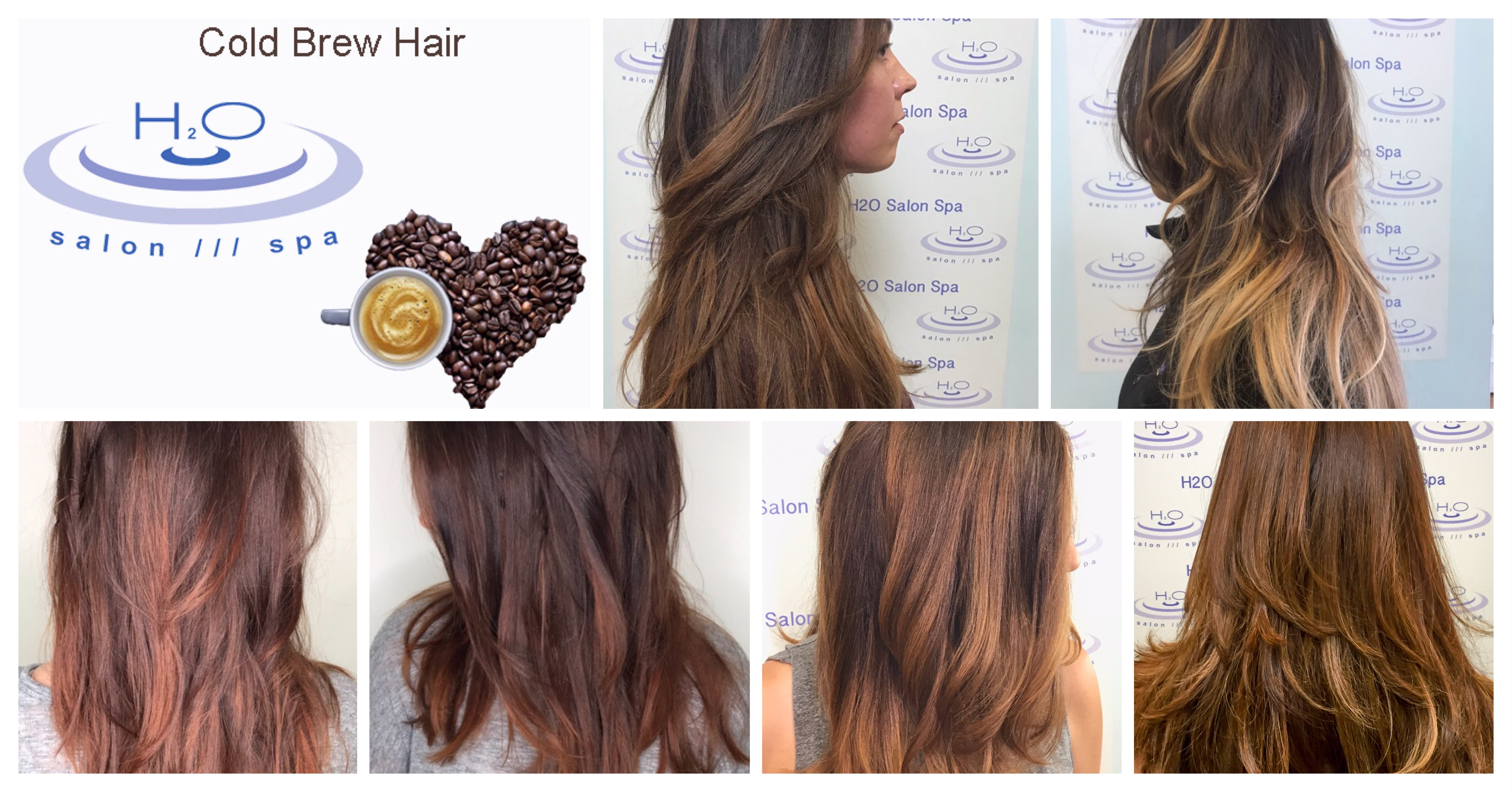 Cold Brew Hair H2O Salon Spa Trends