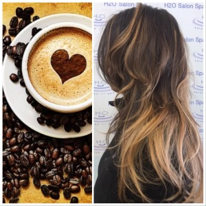 H2O Salon Spa coffe hair color trends