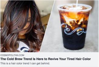 Cosmopolitan Hair Trend H2O Salon Spa