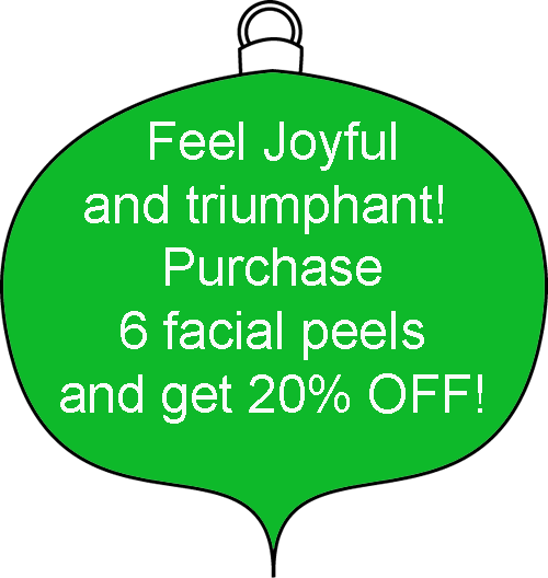 christmas facial peel special