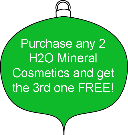 Christmas H2O Mineral Cosmetics Special