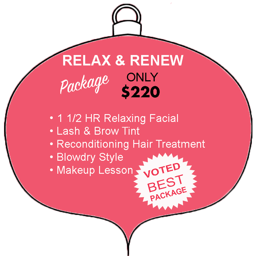 Relax and Renew Package Christmas