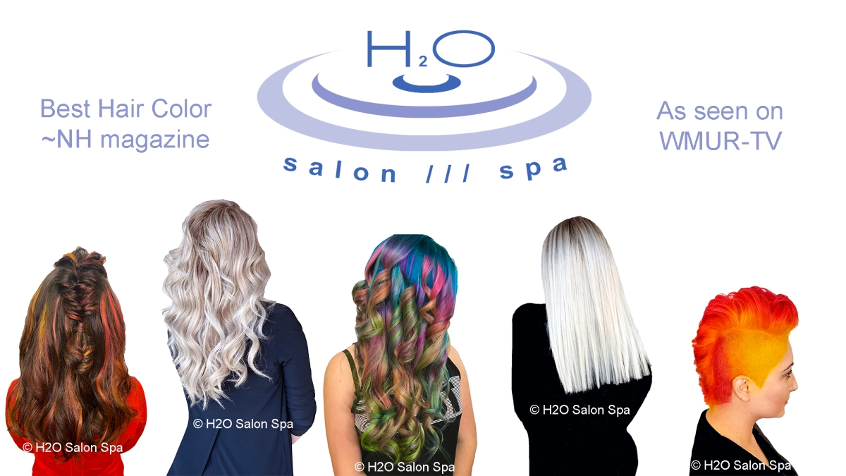 You, in Living, Blooming Color – H2O Salon Spa, NH.